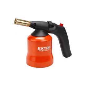 EXTOL-PREMIUM EX8848105 Hořák s piezo zapalováním na propichovací kartuše, max. teplota 1200°C Instalatérské nářadí