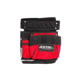 EXTOL-PREMIUM EX8858001 Pás na nářadí, 3 kapsy (1 velká, 1 střední, 1 malá), nylon Pásy, tašky a kufry na nářadí