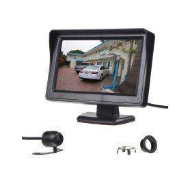 """SE666 Parkovací kamera s LCD 4,3"""" monitorem Parkovací sady"""