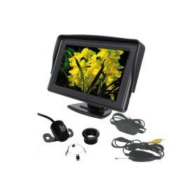"""CW2-SET43 Bezdrátová parkovací kamera s LCD 4,3"""" displejem Parkovací sady"""