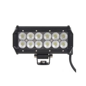 LED světlo obdélníkové, 12x3W, 167x73x107mm