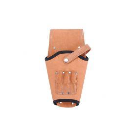 EXTOL-PREMIUM EX423 Pouzdro na aku vrtačku kožené, na opasek, s pojistným řemínkem Kufry a pořadače nářadí