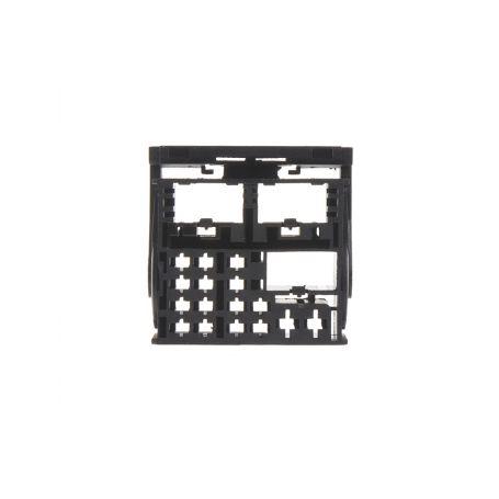 MOST plast konektoru černý