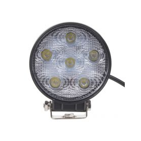 LED světlo kulaté, 6x3W, ø128mm, ECE R10
