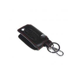 x Kožený obal pro klíč Peugeot, 3-tlačítkový (48PG104)