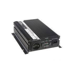 Autonabíječka 12V/10A + měnič 1200W 12/230V, UPS
