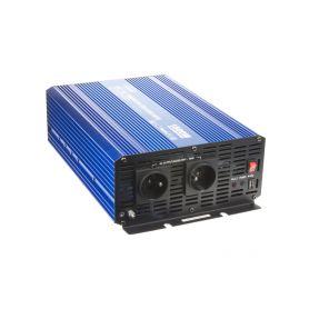 35PSW1512 Sinusový měnič napětí z 12/230V + USB, 1500W Sinusové měniče