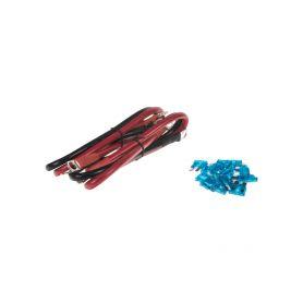 Objímka plochá 6,3 mm červená, 100 ks - 1