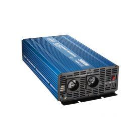 35PSW3024 Sinusový měnič napětí z 24/230V + USB, 3000W Sinusové měniče