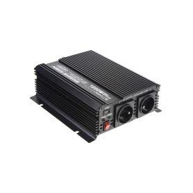 351224 Měnič napětí z 24/230V + USB, 1200W Měniče z 24V na 230V