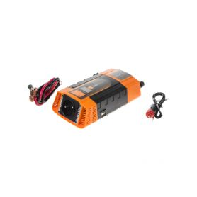 35612D Měnič napětí z 12/220V + USB 600W/displej Měniče z 12V na 230V