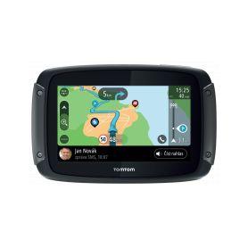 TomTom Rider 550 WORLD + stan Coleman Darwin 3+ Přenosné GPS navigace