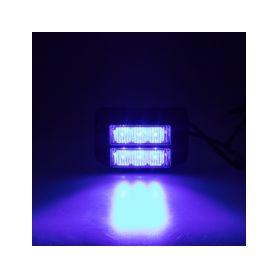 KF003DBLU x PREDATOR dual 6x1W LED, 12-24V, modrý, ECE R10 Vnější ostatní