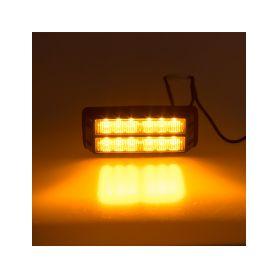 KF006D PREDATOR dual 12x1W LED, 12-24V, oranžový, ECE R10 Vnější ostatní