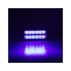 KF006DBLU PREDATOR dual 12x1W LED, 12-24V, modrý, ECE R10 Vnější ostatní