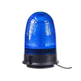 WL55BLUE x LED maják, 12-24V, modrý magnet, 80x SMD5050, ECE R10 LED magnetické