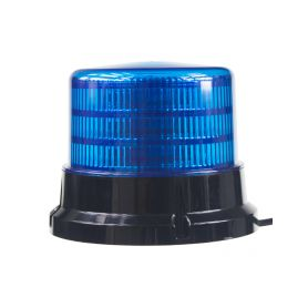 911-75FBLU x PROFI LED maják 12-24V 36x0,5W modrý ECE R10 167x132mm LED pevná montáž