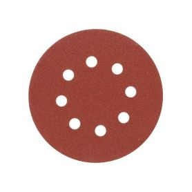 TOYA Brusný papír 125 mm P120 s otvory 5 ks suchý zip TOYA 4-to-08582
