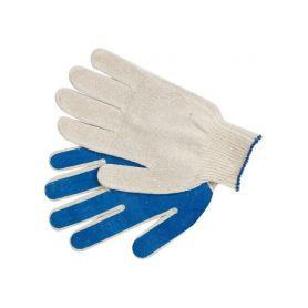 """TOYA TO-74106 Rukavice zahradní bavlněné potažené PVC """"B1"""" Pracovní rukavice"""