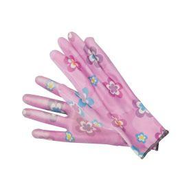 """TOYA TO-74130 Pracovní rukavice růžové 9"""" Pracovní rukavice"""
