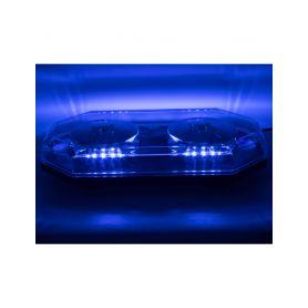 SRE2BLU LED rampa 388mm, modrá, magnet, 12-24V, ECE R10 Malé magnetické