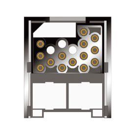 Odrušovací filtry  1-mesvw mesvw Adaptér do reproduktorů pro OEM VW, Škoda, Seat