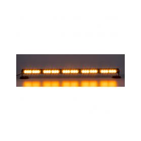 KF755-5 LED světelná alej, 30x 1W LED, oranžová 800mm, ECE R10 Vnitřní