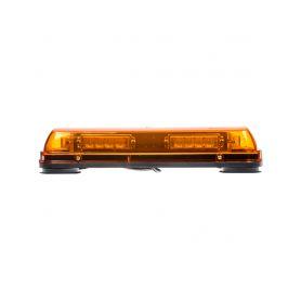 LED rampa, oranžová, magnet, 24x LED 1W, ECE R10