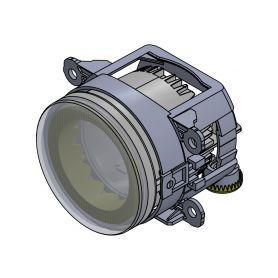 CarClever LED světla pro denní svícení s optickou trubicí, ECE 1-drlot160