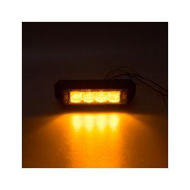 911-C4 PROFI výstražné LED světlo vnější, oranžové, 12-24V, ECE R65 Vnější s ECE R65