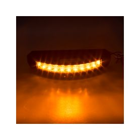911-C9 PROFI výstražné LED světlo vnější, oranžové, 12-24V, ECE R65 Vnější s ECE R65