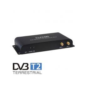 DVB-T05 DVB-T2/HEVC/H.265 digitální tuner s USB + 4x anténa TV Tunery DVB-T