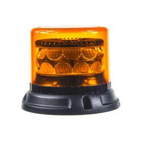 911-C24F PROFI LED maják 12-24V 24x3W oranžový 133x110mm, ECE R65 LED pevná montáž