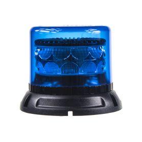 911-C24FBLU PROFI LED maják 12-24V 24x3W modrý 133x110mm, ECE R65 LED pevná montáž