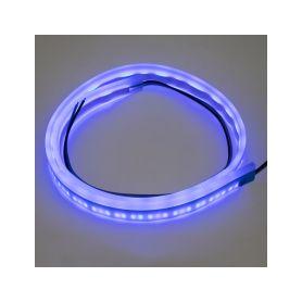 LFT60SLIMBLU LED silikonový extra plochý pásek modrý 12 V, 60 cm LED pásky