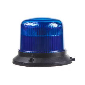 911-E30FBLUE PROFI LED maják 12-24V 10x3W modrý ECE R10 121x90mm LED pevná montáž