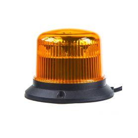 911-E30F PROFI LED maják 12-24V 10x3W oranžový ECE R65 121x90mm LED pevná montáž