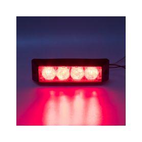 911-E4RED x PROFI výstražné LED světlo vnější, 12-24V, červené Vnější ostatní
