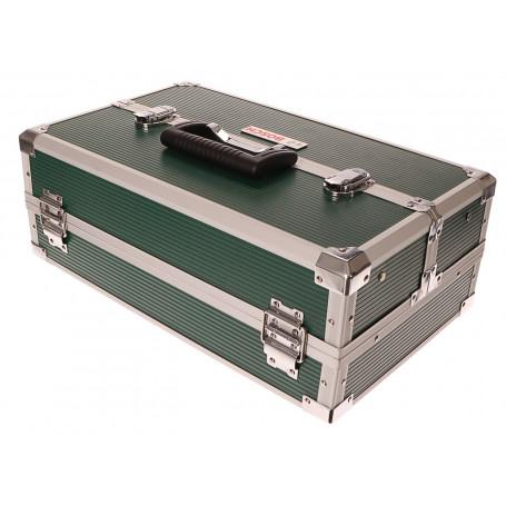 Kufr na nářadí s příslušenstvím 240ks - bity, vrtáky, hmoždinky, šrouby BOSCH BLACK FRIDAY