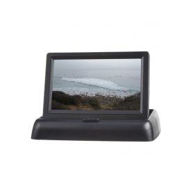 """80055B Výklopný monitor 4,3"""" černý na palubní desku Na palubní desku"""