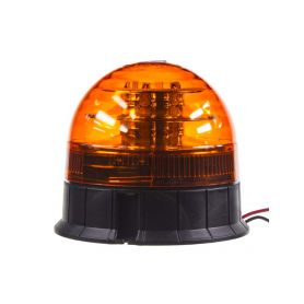 x LED maják, 12-24V, 12x3W oranžový, ECE R65