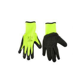 GEKO G73585 Pracovní zimní rukavice vel.8 zelené Pracovní rukavice