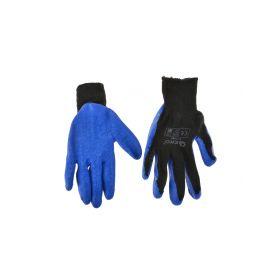 GEKO G73596 Pracovní zimní rukavice vel. 9 modré Pracovní rukavice