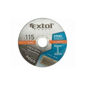 EXTOL-CRAFT EX106901 Kotouče řezné na kov, 5ks, 115x1,0x22,2mm Řezné kotouče