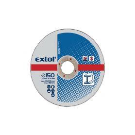 EXTOL-CRAFT EX108020 Kotouče řezné na kov, 5ks, 125x2,5x22,2mm Řezné kotouče