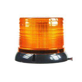 LED maják, 12-24V, oranžový
