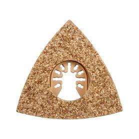 YATO YT-34687 Trojúhelníková brusná deska pro multifunkční nářadí HM, 80mm (beton, keramika ) Příslušenství k bruskám