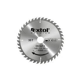 EXTOL-PREMIUM EX8803235 Kotouč pilový s SK plátky, 210x2,6x25,4mm, 48T, šířka SK plátků 3,2mm Pilové kotouče