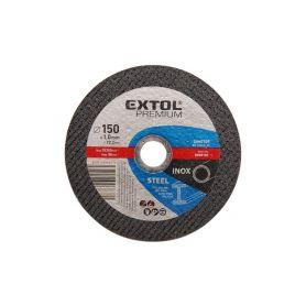 EXTOL-PREMIUM EX8808152 Kotouč řezný na ocel/nerez, 125x0,8x22,2mm Řezné kotouče