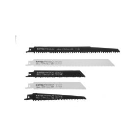 EXTOL-PREMIUM EX8806000 Pilové plátky do pily ocasky - mix plátků, sada 5ks, HCS, BIM Příslušenství pro pily